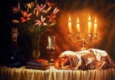 La famille & la table de Chabbat